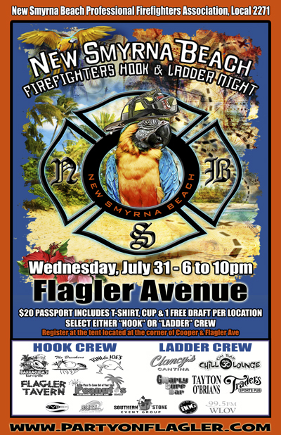 Firefighters Hook & Ladder Night