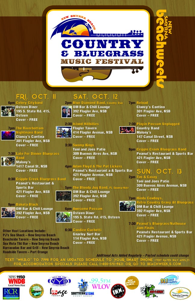 NSB Country and Bluesgrass Music Festival