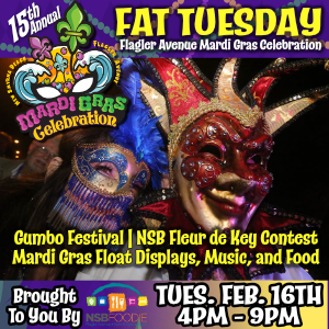 Fat Tuesday on Flagler Avenue
